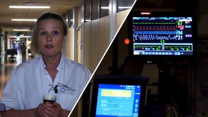 Corona verandert leven van IC-verpleegkundige Suzanne va IJzerloo uit Eindhoven.