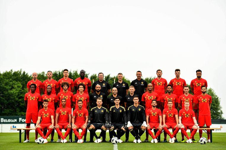De officiële ploegfoto.