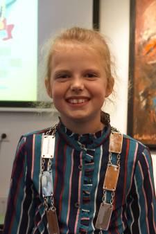 Mares (9) is de eerste kinderburgemeester van Noord-Beveland