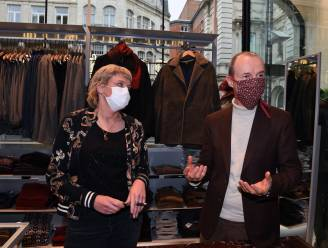 """Leuvense handelaars voelen sluiting van horeca in omzetcijfers maar ze blijven creatief: """"Personal shopping is een deel van het antwoord"""""""