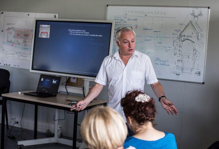 Hoofdarchitect Philippe Villeneuve