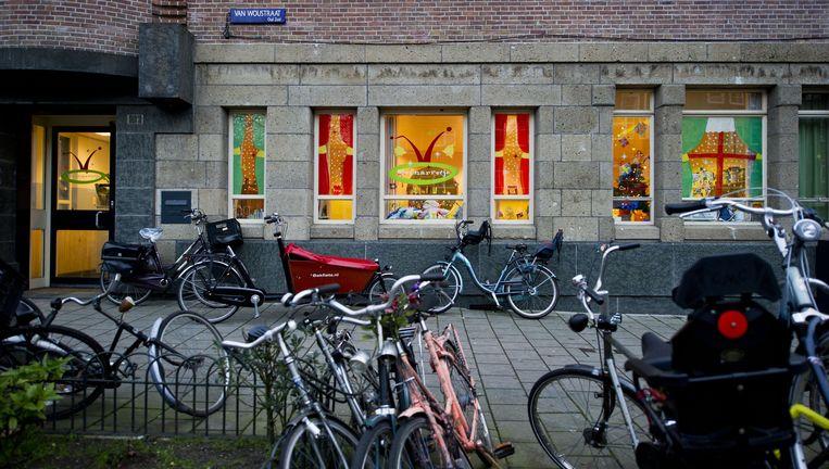 Kinderdagverblijf Het Hofnarretje in Amsterdam. Beeld anp