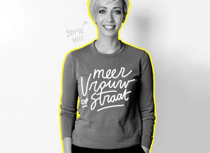"""Sofie Lemaire wil """"Meer vrouw op straat""""."""