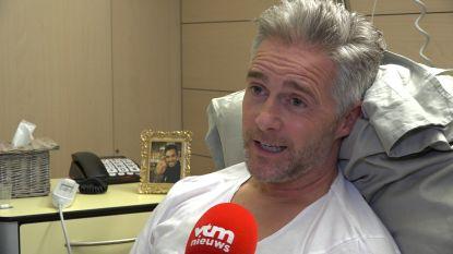 """Christoff in allerijl geopereerd aan lekkende hartklep: """"Ik had mijn testament al gemaakt"""""""