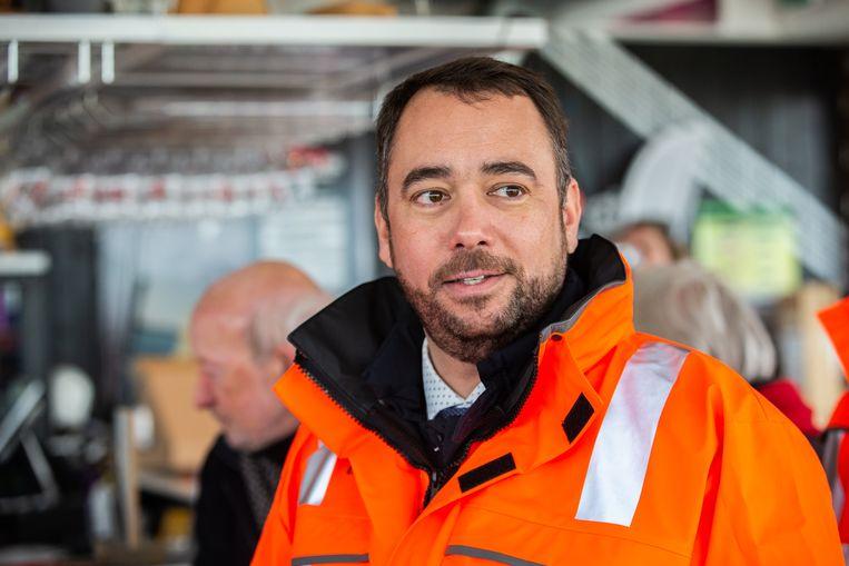Maxime Prévot is sinds begin dit jaar de nieuwe voorzitter van cdH.