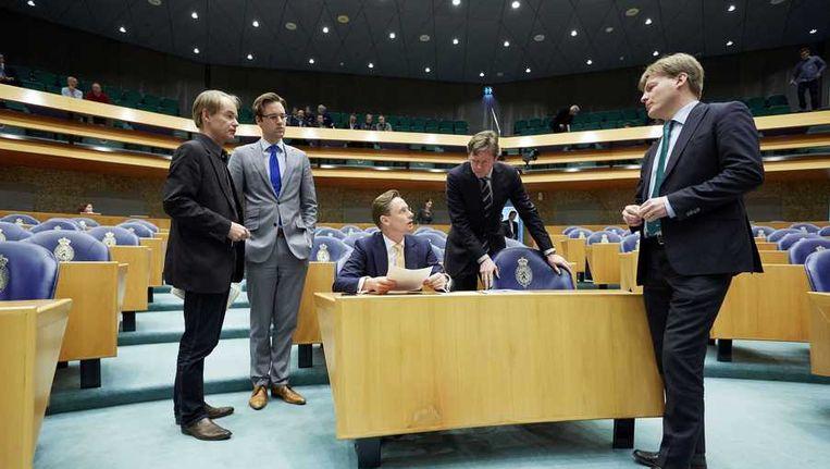 Debat in de Tweede Kamer over Oekraïne. Beeld anp