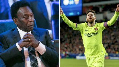 """Pele krijgt zware kritiek op Leo Messi als een boomerang terug: """"Is hij soms blind geworden?"""""""
