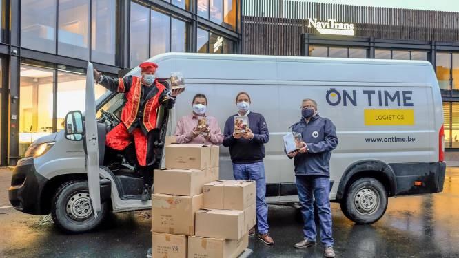 "Navitrans verrast telewerkers met sinterklaaspakket aan huis: ""Personeel hart onder de riem steken"""