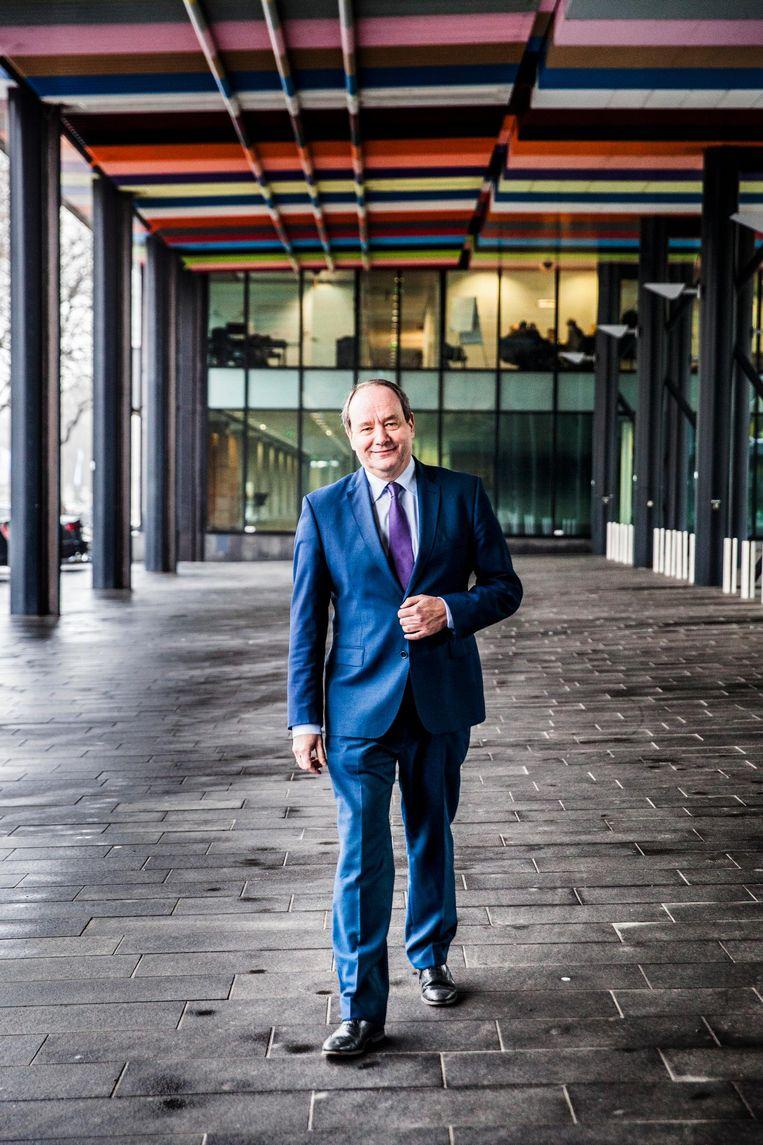 Hans Vijlbrief wordt voor D66 de nieuwe staatssecretarissen van Financiën Beeld Aurélie Geurts