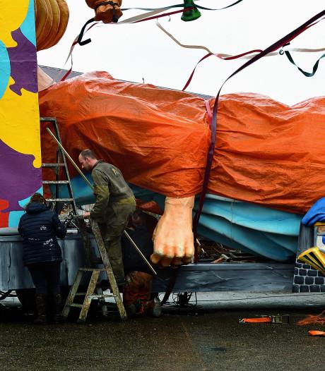 Storm zorgt voor vertraging bij Bergse bouwclubs