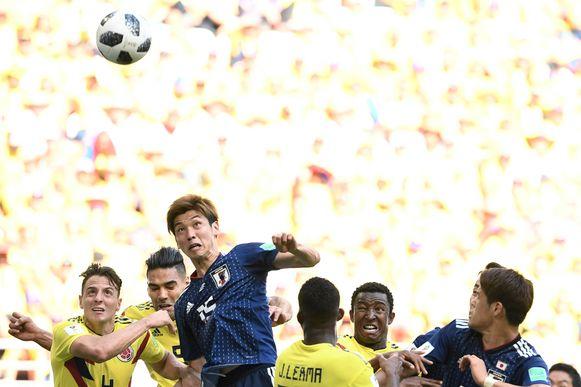 Osako kopt Japan naar de drie punten.