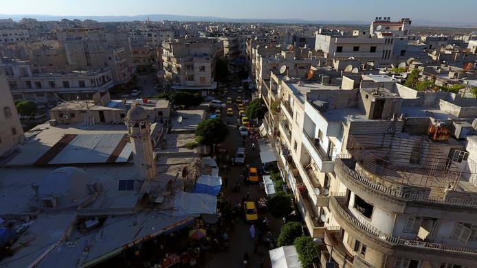 Beel van Idlib in 2017.