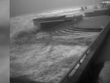Vloedgolf zorgt voor schade in Rockanje