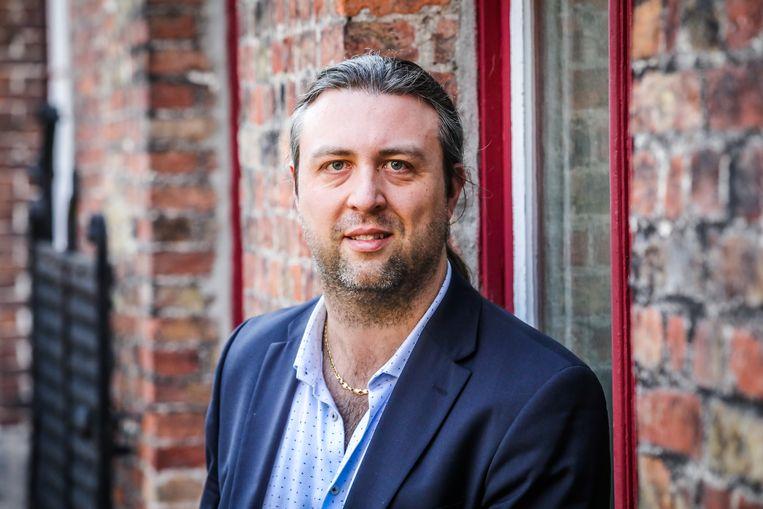 Dimitri Thirion is de nieuwe voorzitter van de vzw Hotels Brugge.