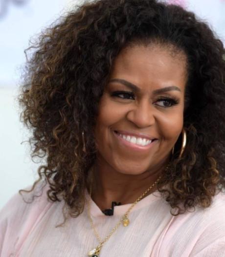 Michelle Obama neemt het op voor Greta na sneer Trump: 'Laat niemand jouw licht dimmen'