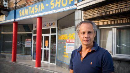 Stormloop bij uitverkoop van Fantasia-Shop