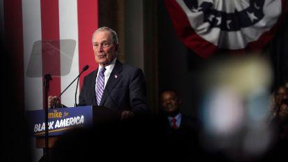 Bloomberg stapt nu echt de Democratische verkiezingsrace in en mag morgen eerste keer meedoen aan debat