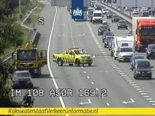 Rijstroken A50 binnen enkele minuten vrijgegeven na ongeval bij Arnhem