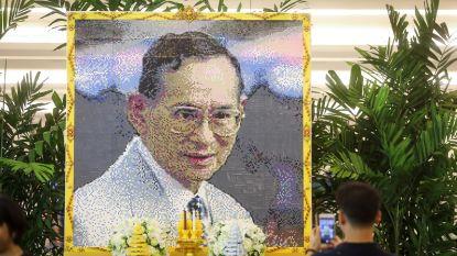 Thaise koning Bhumibol wordt ruim jaar na overlijden gecremeerd