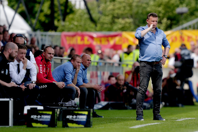 coach John Stegeman of Go Ahead Eagles during Go Ahead Eagles - FC Den Bosch NETHERLANDS, BELGIUM, LUXEMBURG ONLY COPYRIGHT BSR/SOCCRATES