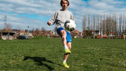 Niel in coronatijden: één voetballer, verder de grote leegte