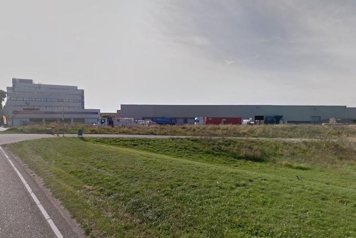 Een deel van het bedrijventerrein op de Noordhoek.