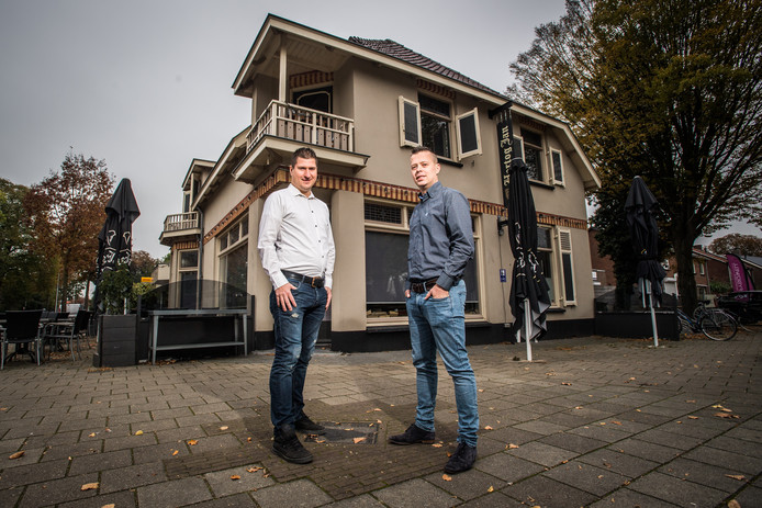 Michael en Bas gaan voormalig cafe-restaurant Antonn exploiteren.
