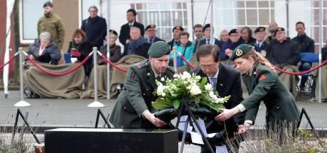 Korea-veteranen herdenken gevallen kameraden bij KCT in Roosendaal