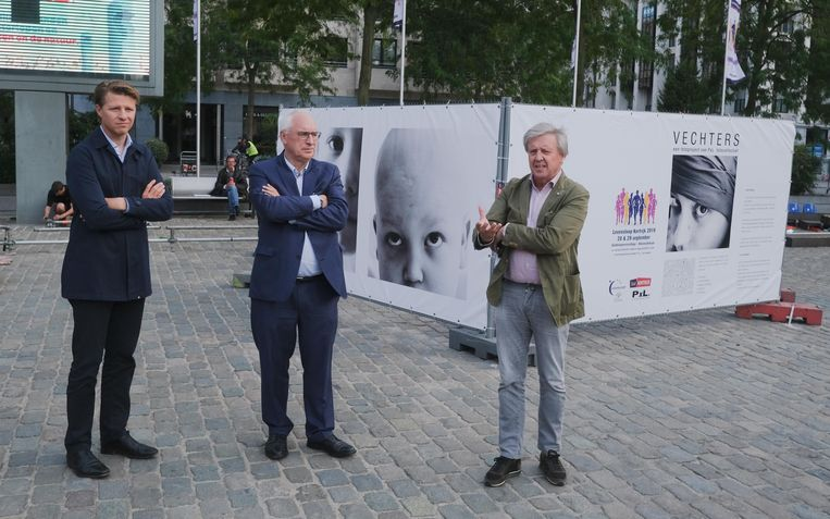 Axel Ronse, Jozef Lievens en Eddy Sabbe.