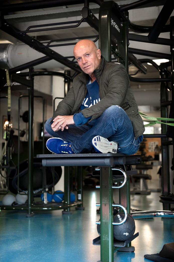 Rolf Leenders in zijn sportschool in 2013.