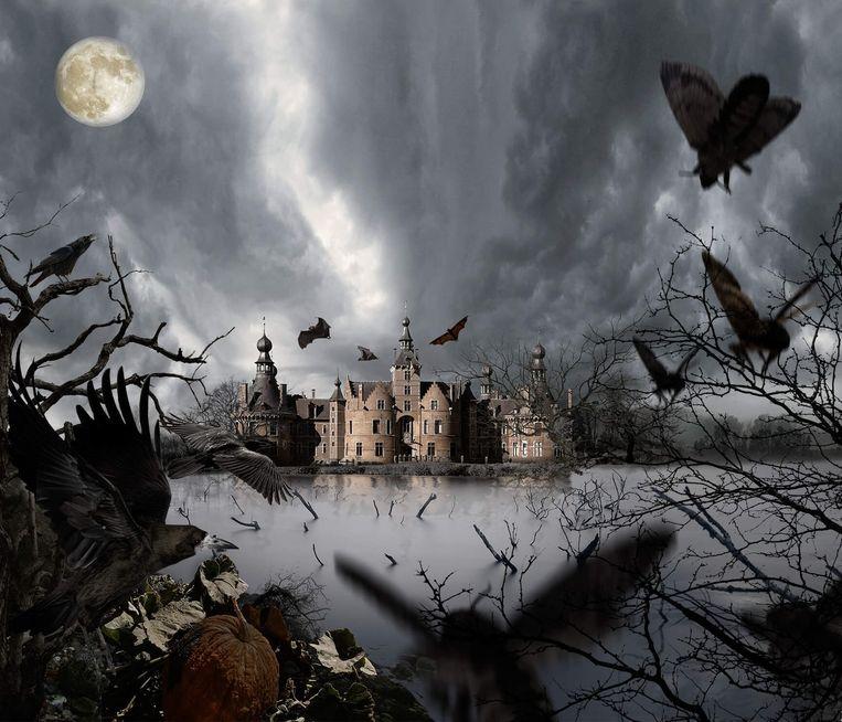 Het kasteel Ooidonk vormt zaterdag het decor voor Helltopia.