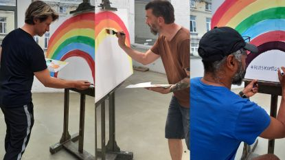 Vlaamse artiesten herwerken 'Somewhere over the rainbow' voor SOS Kinderdorpen