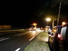 'Hittedrempels' op de N321 in de nacht weg gefreesd
