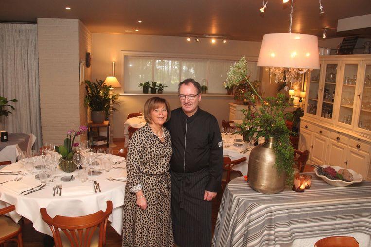 Ann Focquet en Paul Heuker zorgden 19 jaar enkel met hun tweetjes voor een uitstekende service in restaurant De Mirabel.