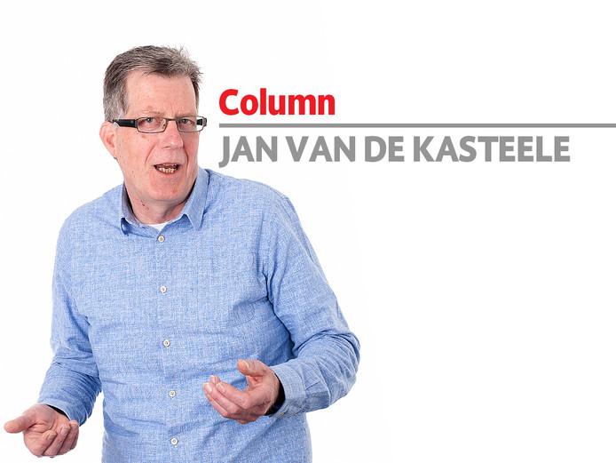 Columnist Jan van de Kasteele