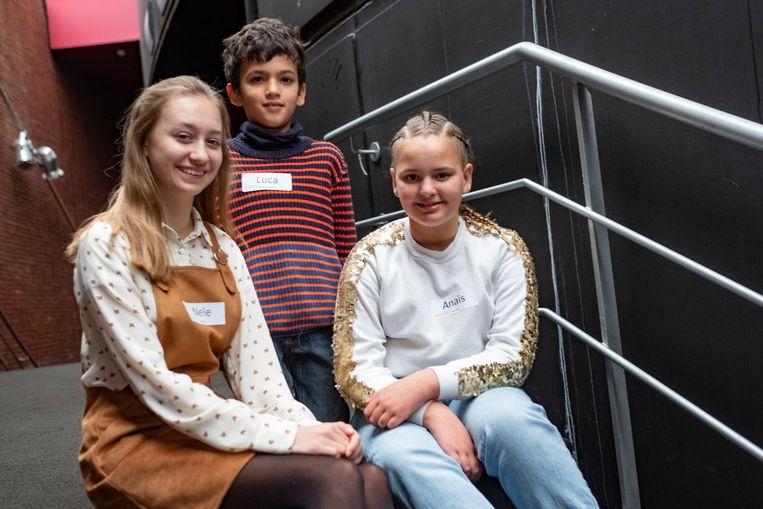 Nele, Luca en Anaïs vertegenwoordigen Antwerpen