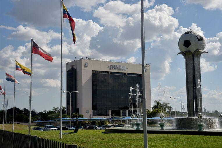 Het hoofdkwartier van Conmebol in Paraguay.