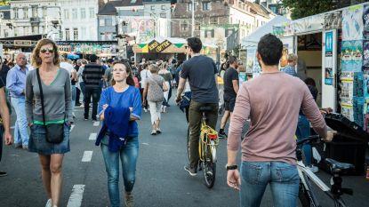 Op de fiets in Feestenzone? Boete bij roekeloos gedrag