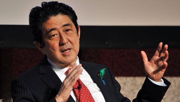 Le Premier ministre japonais Shinzo Abe