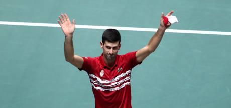 """Djokovic souhaite la création d'une """"Super Coupe"""""""