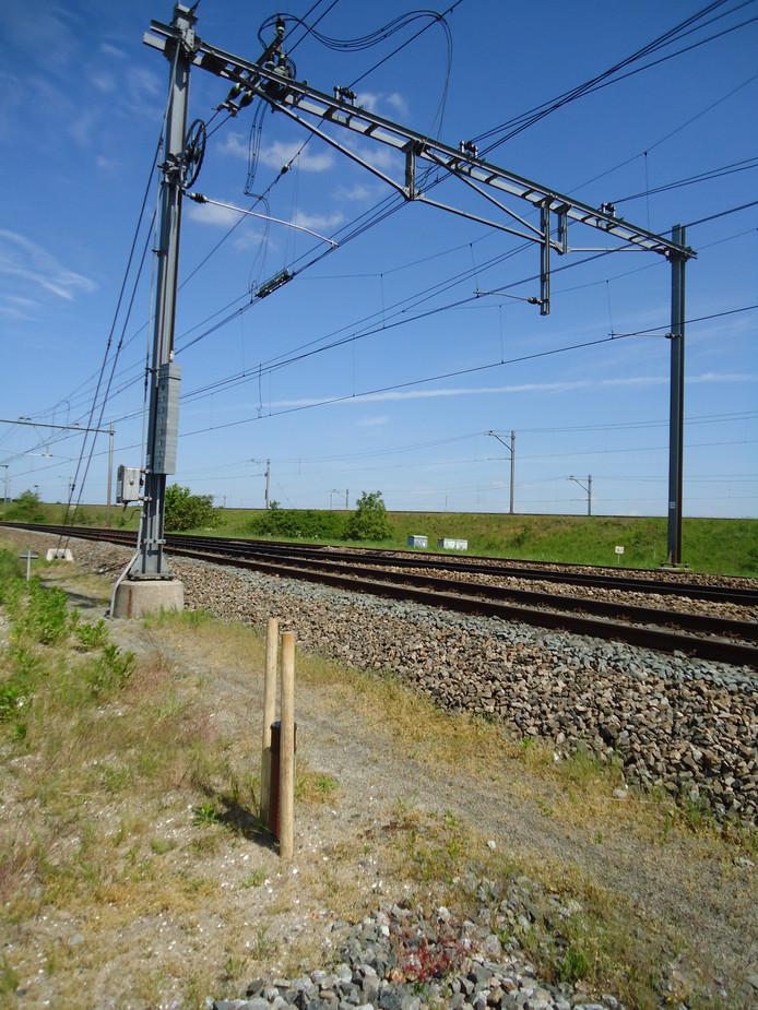 Er komen 70 geurpalen langs de HSL-Zuid.