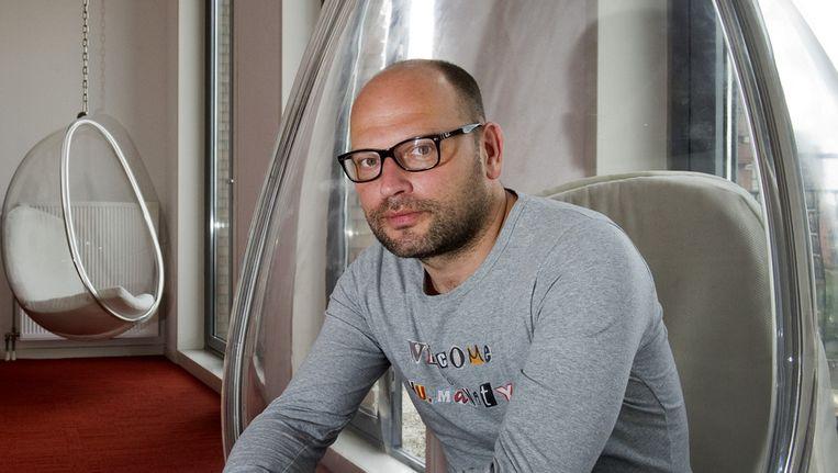 Portret van televisie-presentator en onderzoeksjournalist Gideon Levy. Beeld ANP