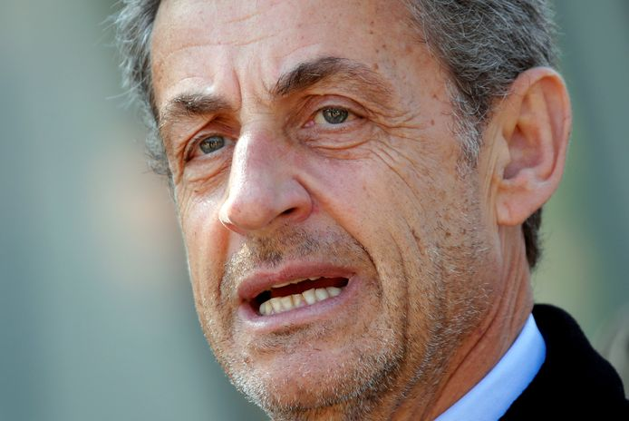 Oud-president van Frankrijk Nicolas Sarkozy.
