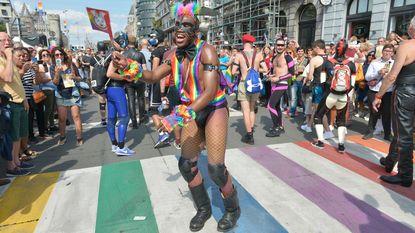 130.000 mensen voor elfde Antwerp Pride