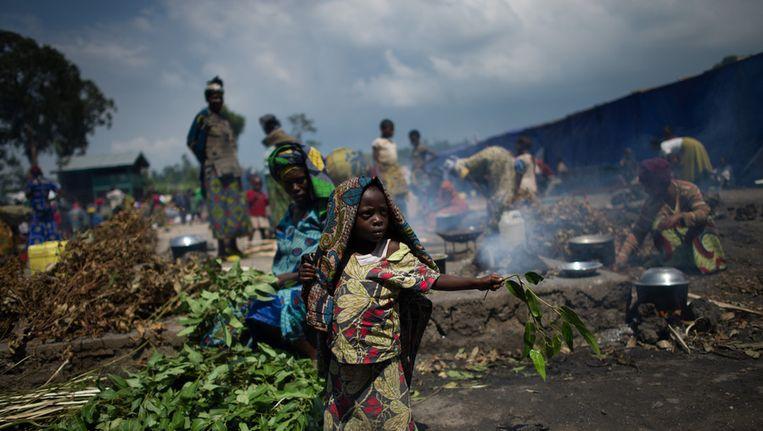 Congolese vluchtelingen Beeld ANP