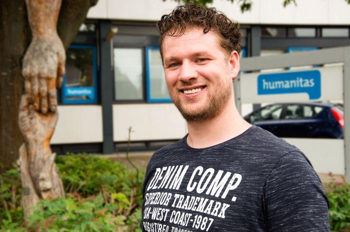 Robbert Meijer, coördinator Match bij Humanitas Twente