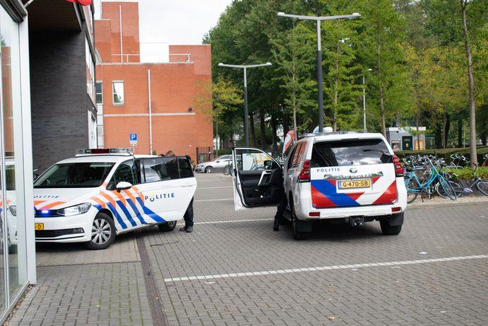Het conflict vond plaats in bij een fietsenwinkel in Tilburg.