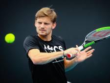 Goffin s'est préparé avec Federer et Medvedev avant son entrée en lice mardi