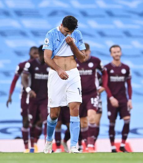 Hattrickheld Vardy en Leicester vernederen Manchester City
