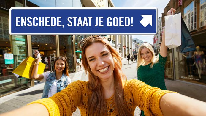 De Achterhoek-campagne moet meer winkelpubliek naar Enschede lokken
